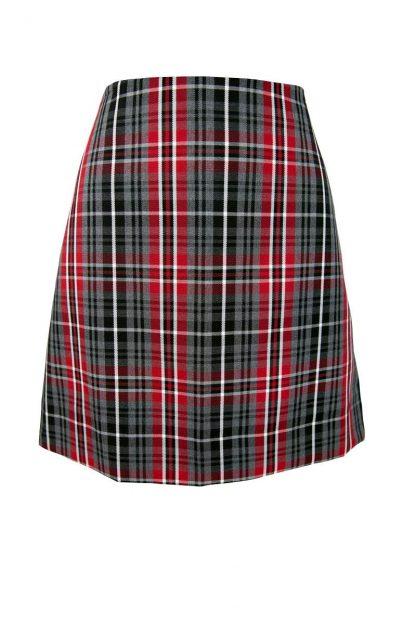 Batemans Bay High Junior Girls Check Straight Skirt