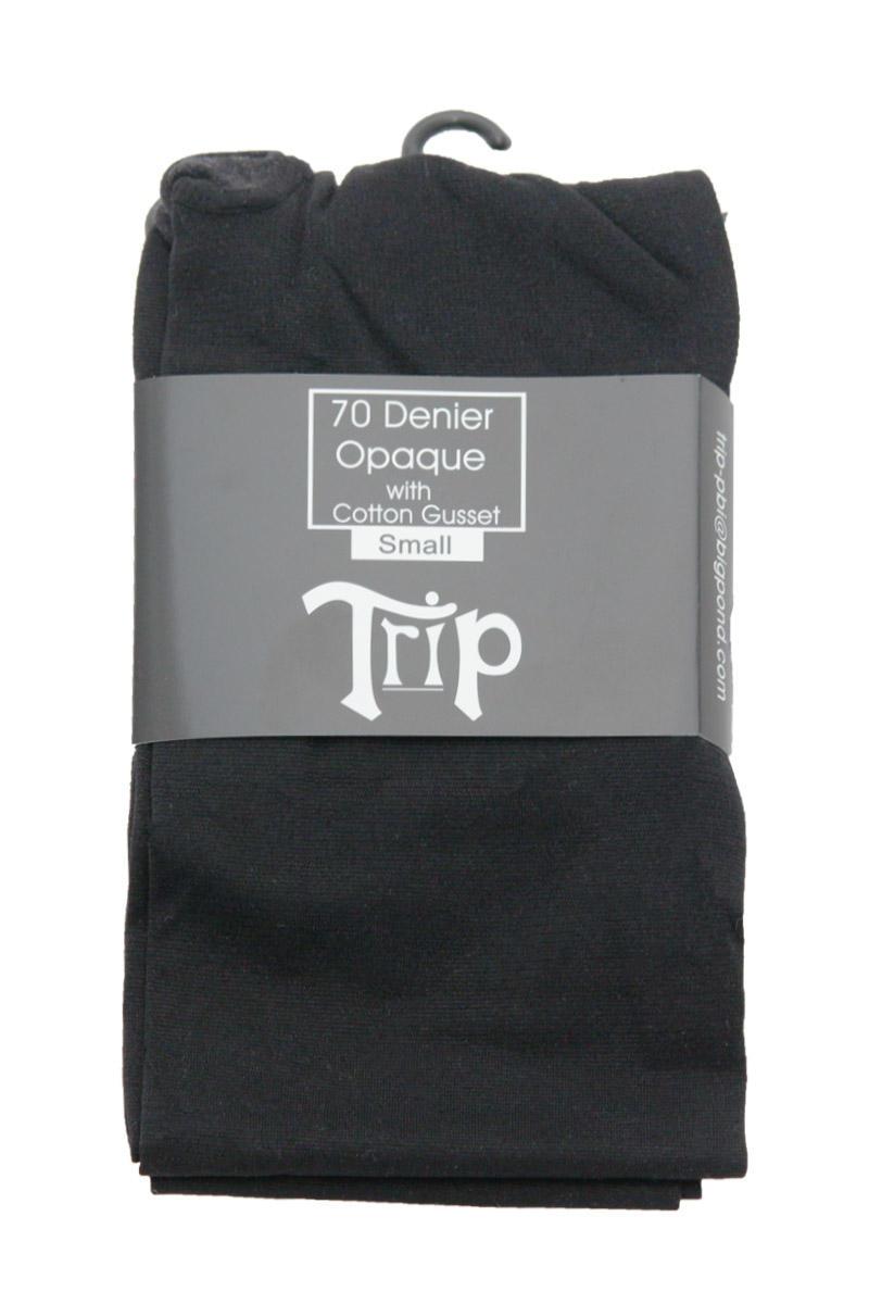 Black 70 Denier Opaque Tights