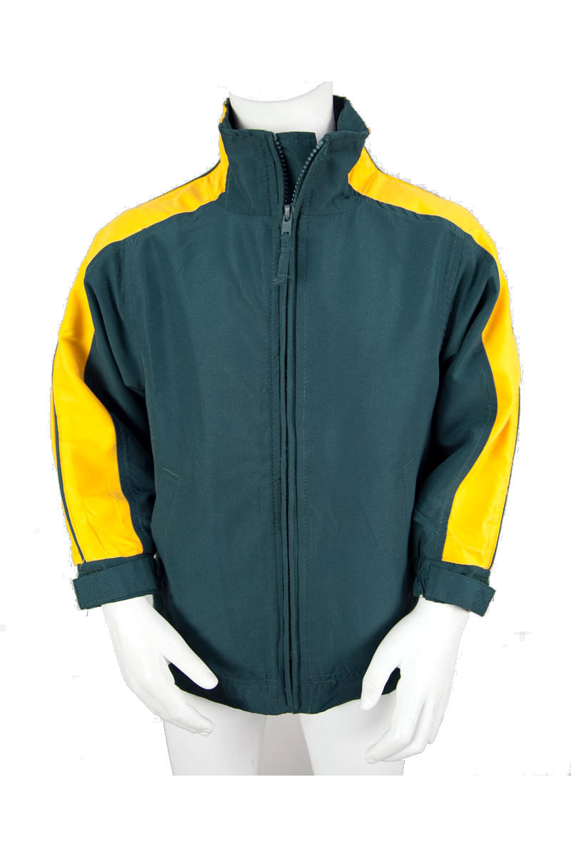 Bottle Microfibre Jacket with Yellow Trim