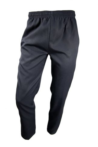 Boys Black Gaberdine Pants