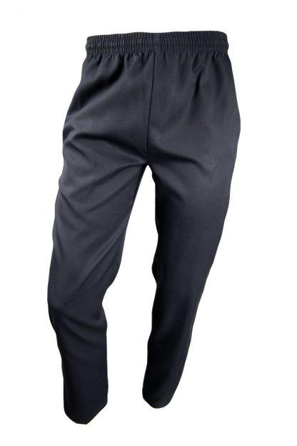 Boys Black Gaberdine Pants