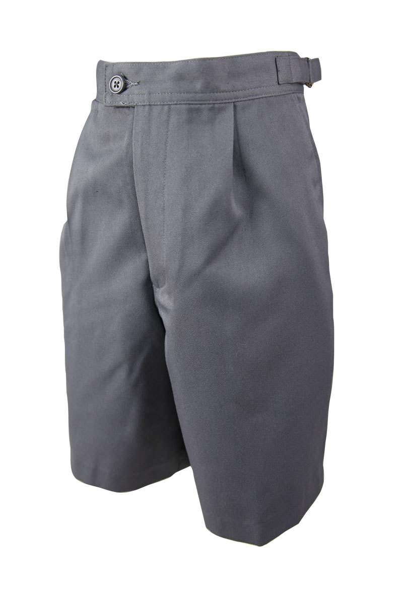 Boys Gaberdine Tab Shorts