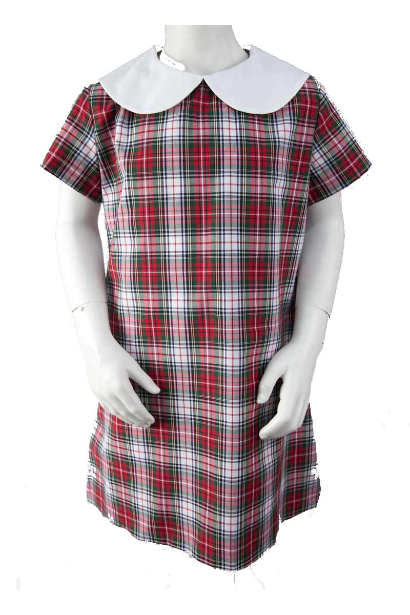 Broulee Primary Girls Check Dress
