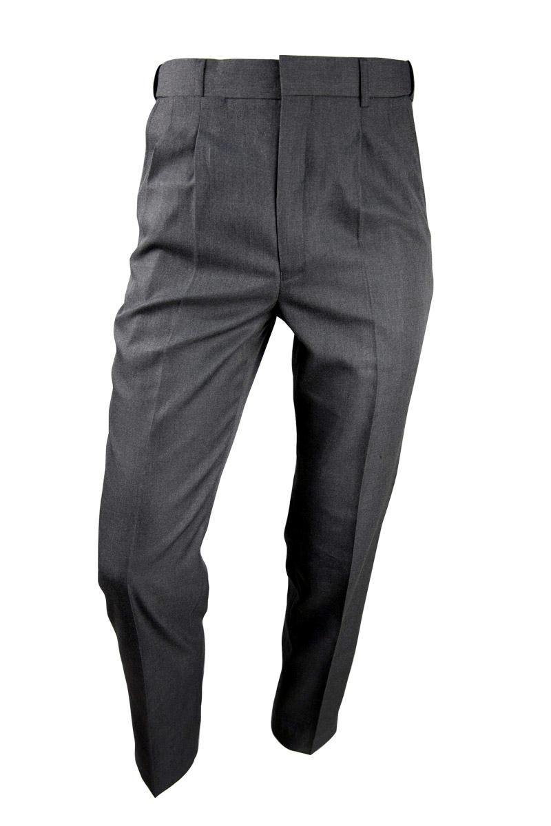 Carroll College Junior Boys Grey Melange Long Pants