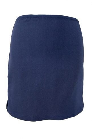 Girls Navy Straight Skirt