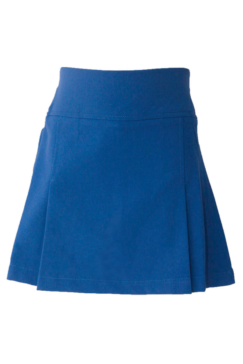 Girls Royal Pleated Skort