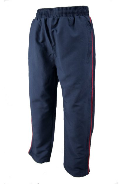 Navy Microfibre Trackpants