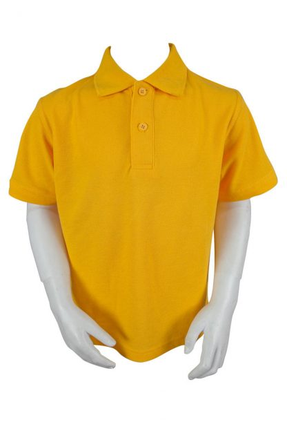 Plain Gold Polo