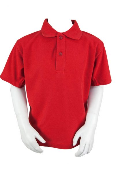 Plain Red Polo