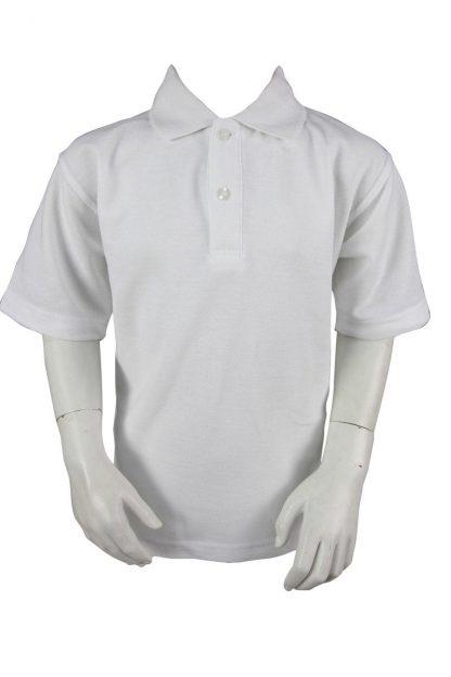 Plain White Polo