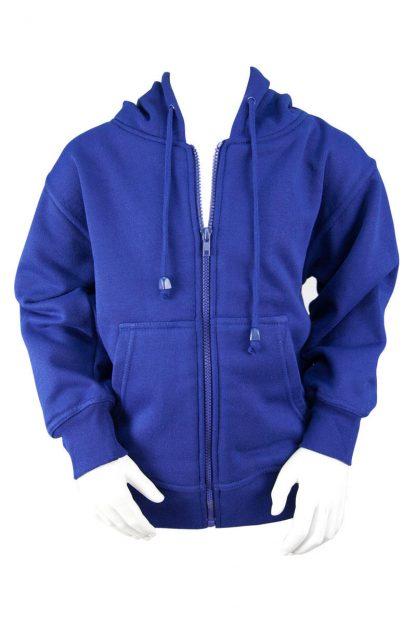 Royal Fleece Hooded Jacket