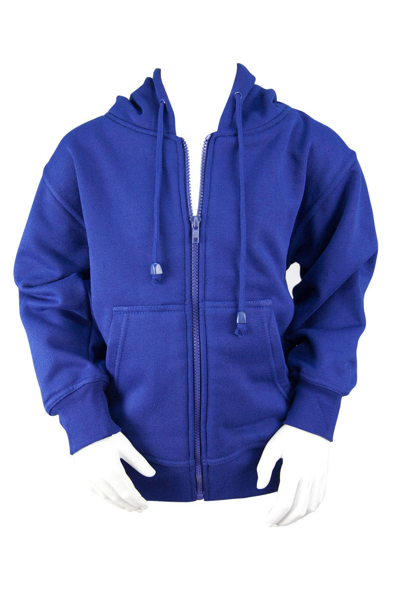 Royal Fleece Hooded Jacket