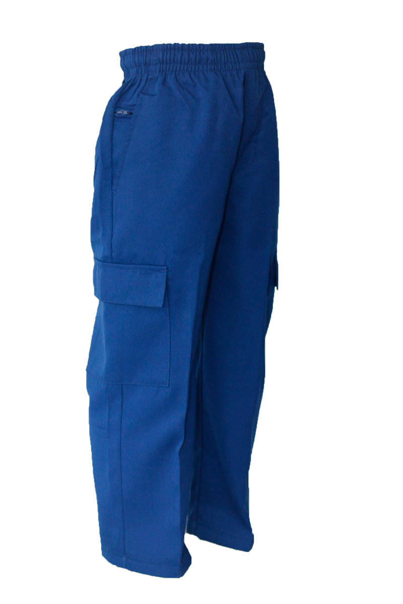 Royal Gaberdine Cargo Long Pant