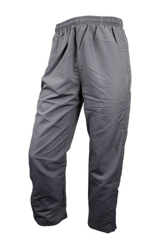 Unisex Microfibre Grey Trackpants