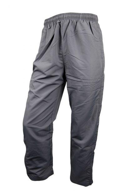 Unisex Microfibre Grey Trackpants