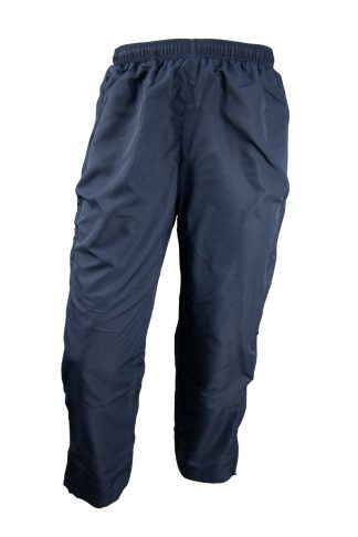 Unisex Microfibre Navy Trackpants